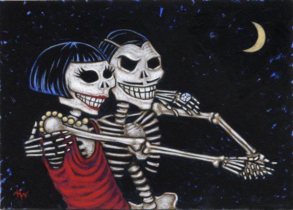 Random Tango Halloween Milonga Pot Luck and Lessons!